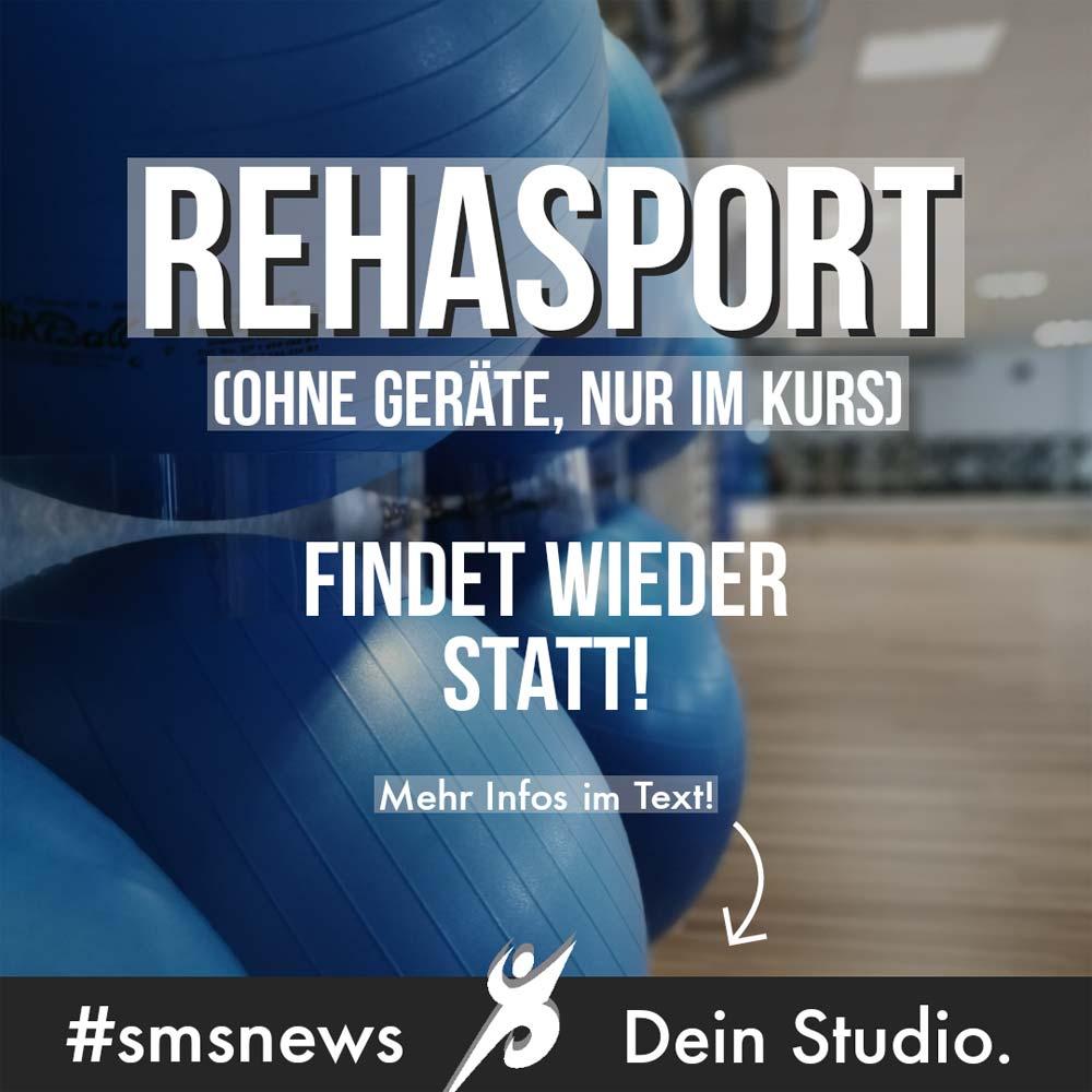 REHA-Sport findet wieder statt